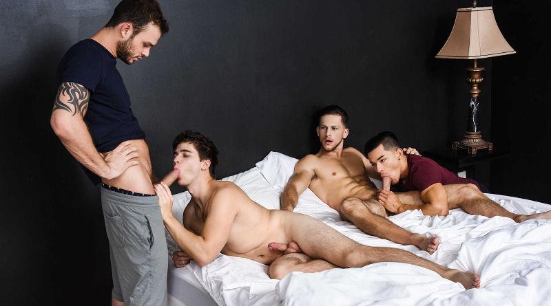 Cliff Jensen pegou o namorado na cama com outro