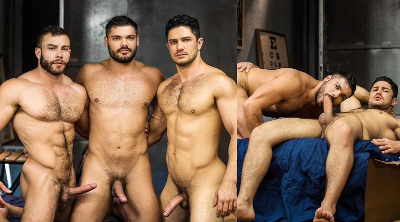 Trio poderoso! Dato Foland, Diego Reyes e Nicolas Brooks
