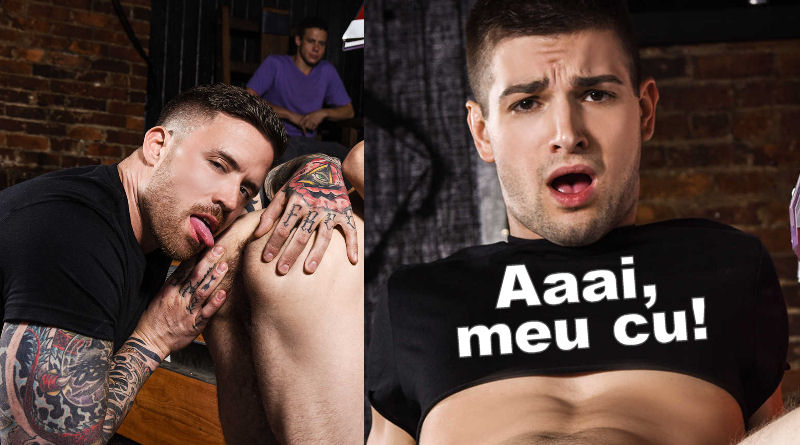 Que fodão! Jordan Levine come Johnny Rapid