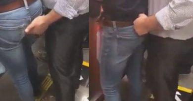 Flagra: Mão boba dentro do metrô
