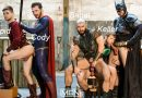 A Liga Gay: Brandon Cody, Colby Keller, Francois Sagat, Johnny Rapid e Ryan Bones