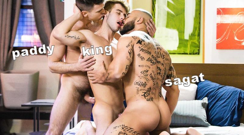 Ai, meu coração! Allen King, Francois Sagat e Paddy O'Brian