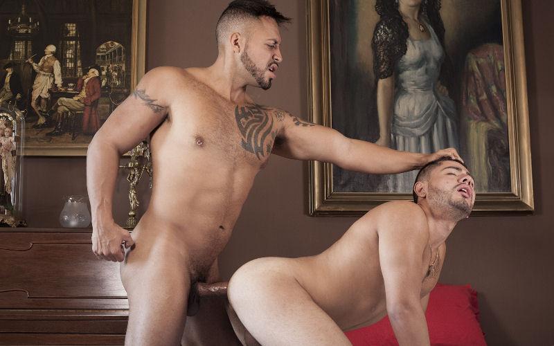 Viktor Rom arregaçando o rabo do Fabian
