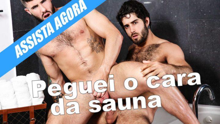 Diego Sans fode com cara da sauna