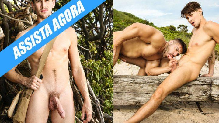 Damien Stone e Jack Hunter estão perdidos na ilha do sexo
