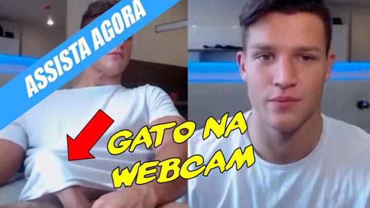 Cara lindo na webcam (pau+bunda)