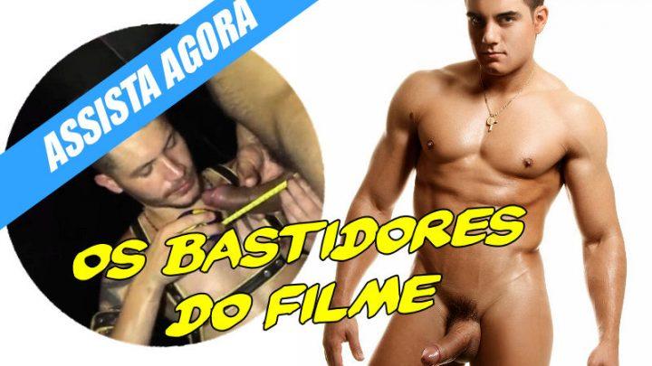 Confira os bastidores de filme pornô com Yuri Gaúcho