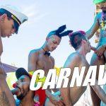 REPOST: Rolou um surubão no Carnaval