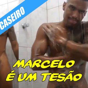 Marcelo no banho, que tesão de macho!