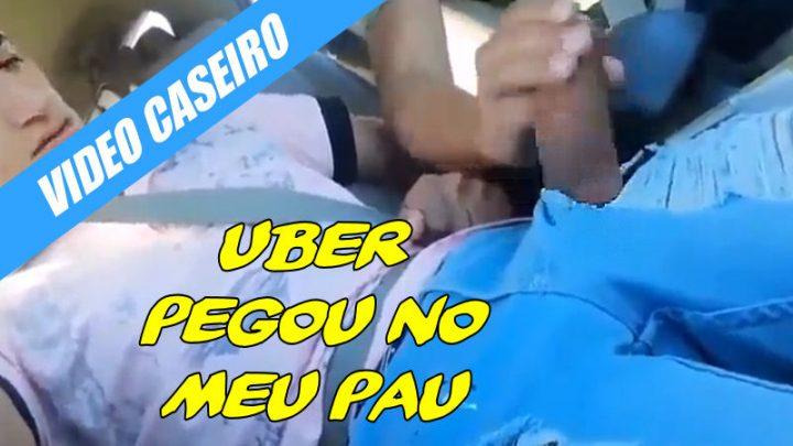 Uber pediu para pegar no meu pau