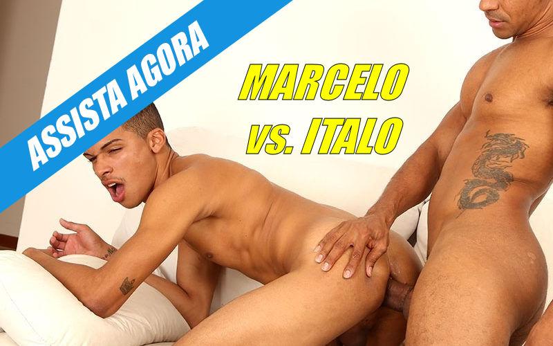 Marcelo Mastro fodendo bareback o rabo do Italo