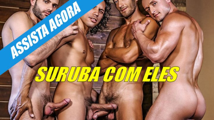 Suruba: Alejandro Castillo, Wolf Rayet, Dominic Arrow e Dennis Sokolov