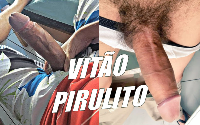 Vitão Pirulito come o rabo do Rodrigo