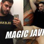 Um tesão de macho grande: Magic Javi