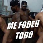 Bruno Recife sendo fodido por dois caras