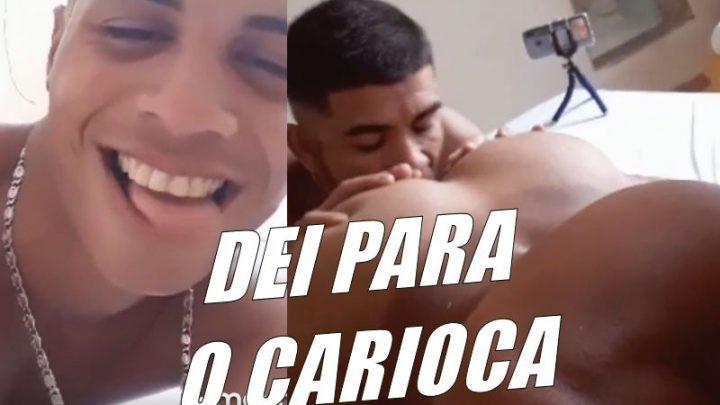 Dei o cu para o Henrique Carioca