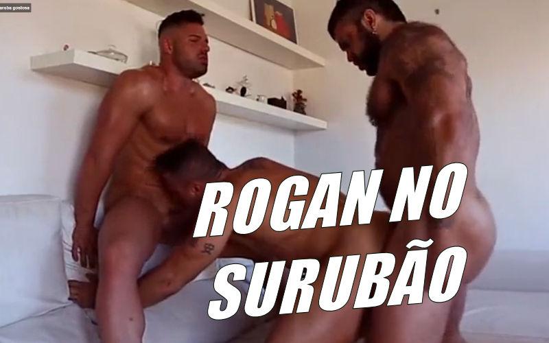 O grandão do Rogan Richards fazendo surubão