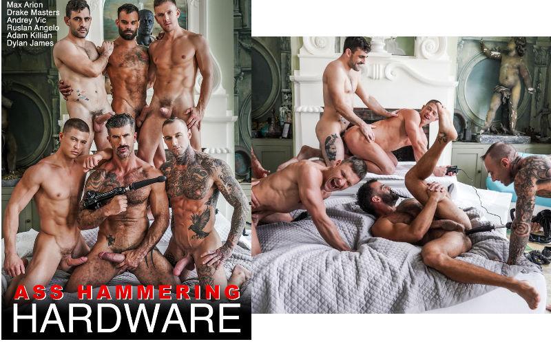 Surubão gostoso com 6 machos