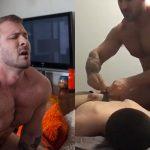Austin Wolf amarra passivo, bate nele e mete pica