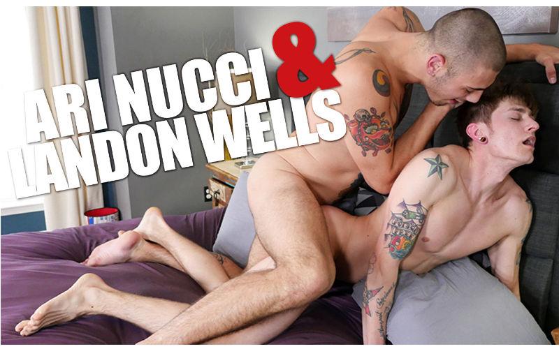 Ari Nucci fode Landon Wells