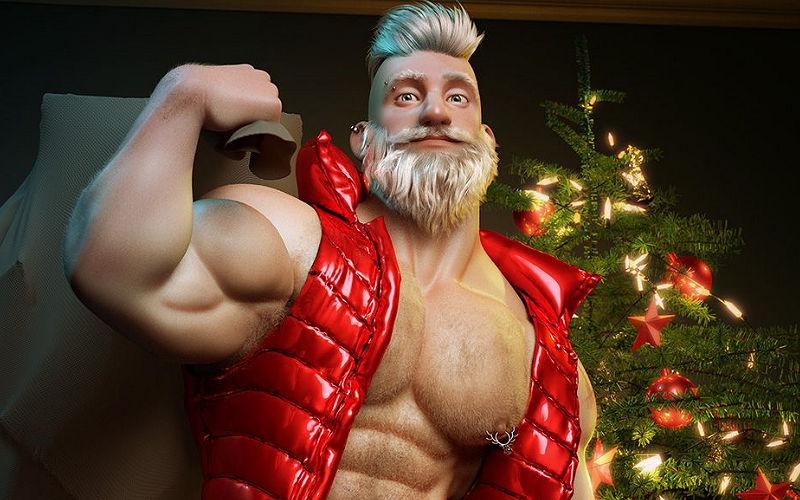 Especial de Natal: caras fodendo sem parar!