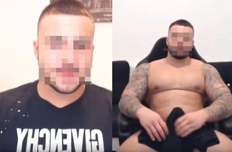 Tesaõ de macho tatuado se exibindo na webcam